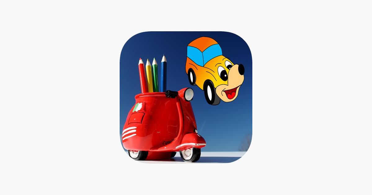 meilleur peinture coloriage de voitures dans l app store. Black Bedroom Furniture Sets. Home Design Ideas