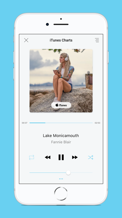 Music app - Unlimited Music screenshot one