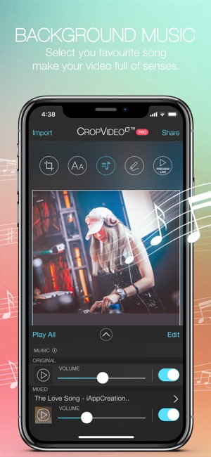 android video background editing software