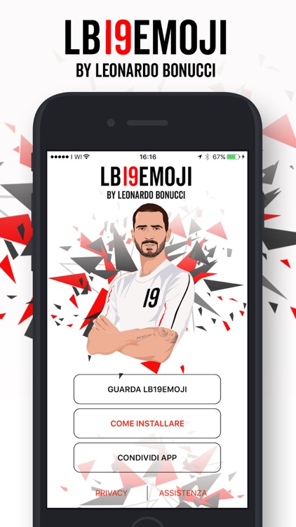 LB19Emoji by Leonardo Bonucci screenshot-0