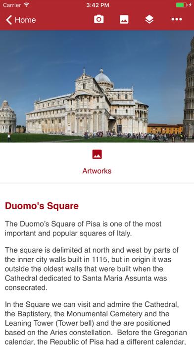 Pisa Miracles Guide screenshot two