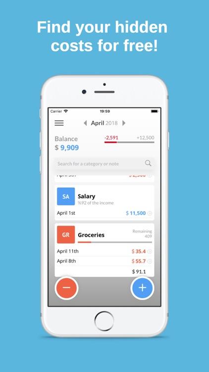simple budget planner by mehmet cetin