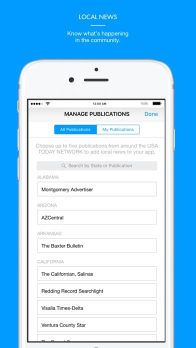 The Coloradoan app image