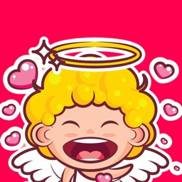 Cute Angel Stickers & Emojis
