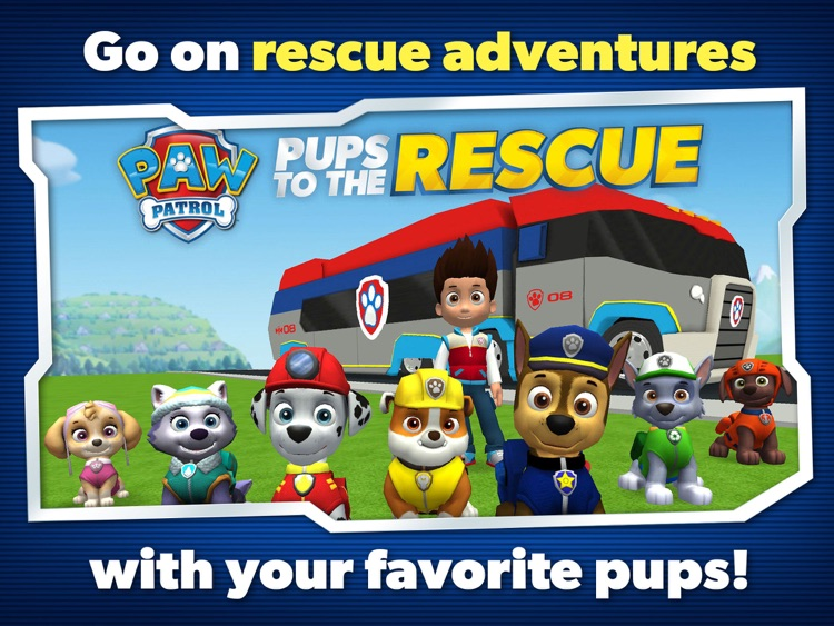 PAW Patrol to the Rescue HD screenshot-2