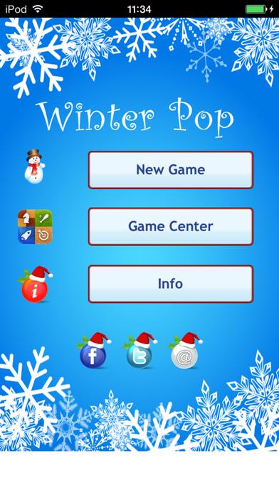 Winter Pop: Save the Snowman screenshot one