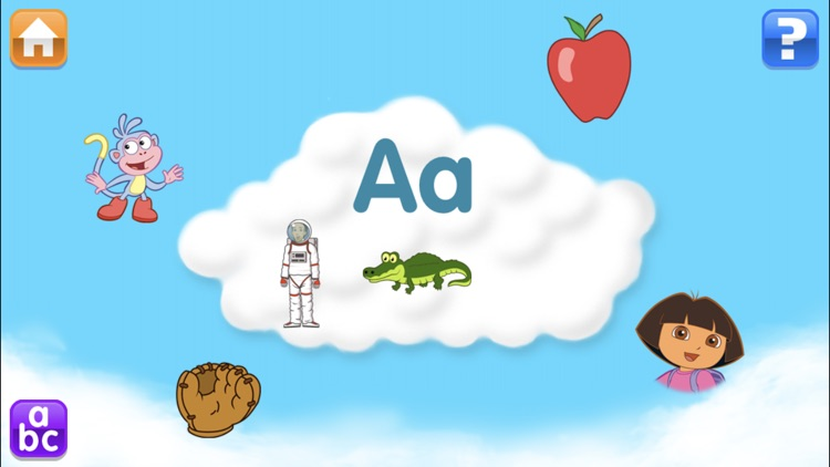 Dora ABCs Vol 1: Letters screenshot-2