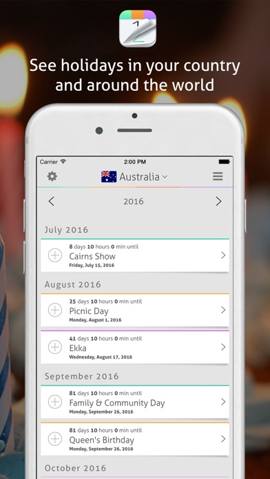 Download Countdown+ Calendar (Lite) for Pc