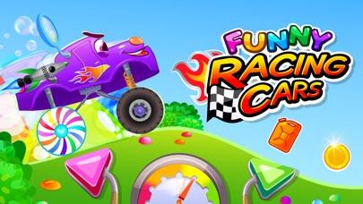 Funny Racing Cars -おもしろレーシングカーのスクリーンショット1