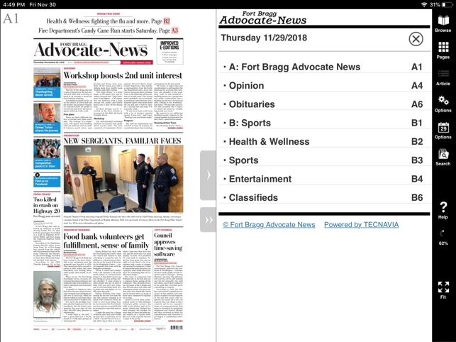 Fort Bragg Advocate-News on the App Store