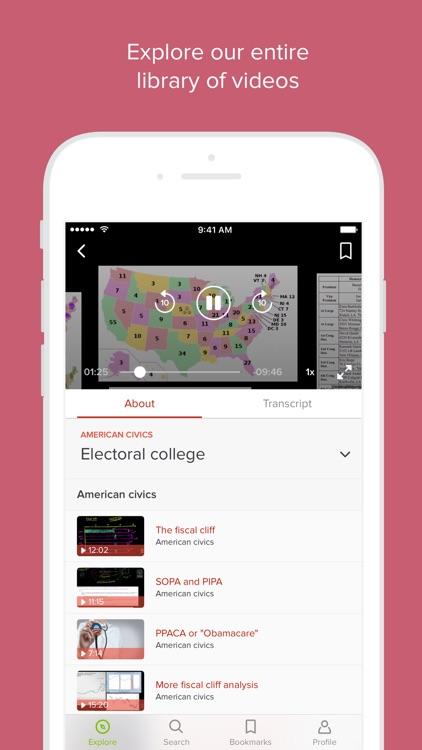 Khan Academy screenshot-3