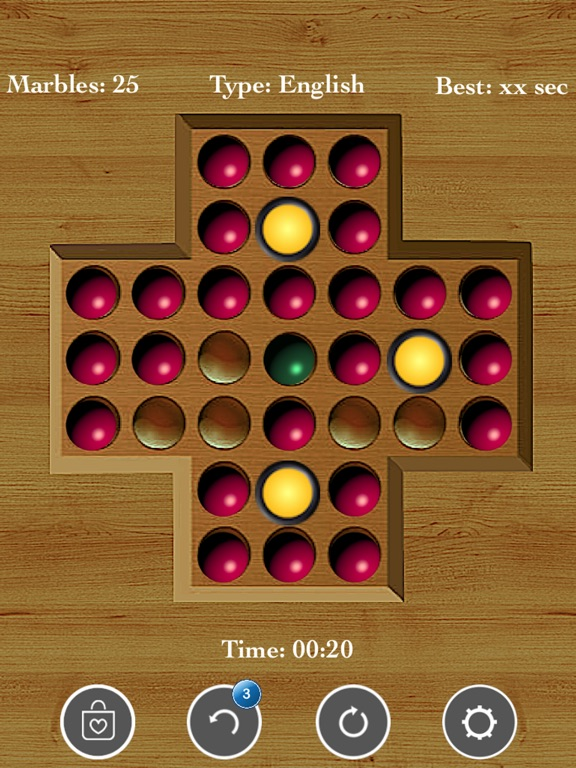 Brainvita Peg Solitaire screenshot 7
