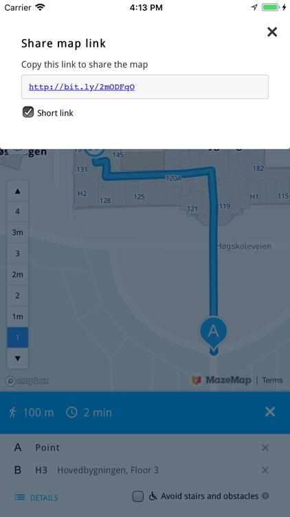 MazeMap screenshot-3
