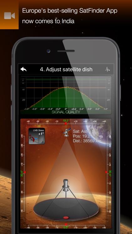 SatFinder भारत screenshot-4