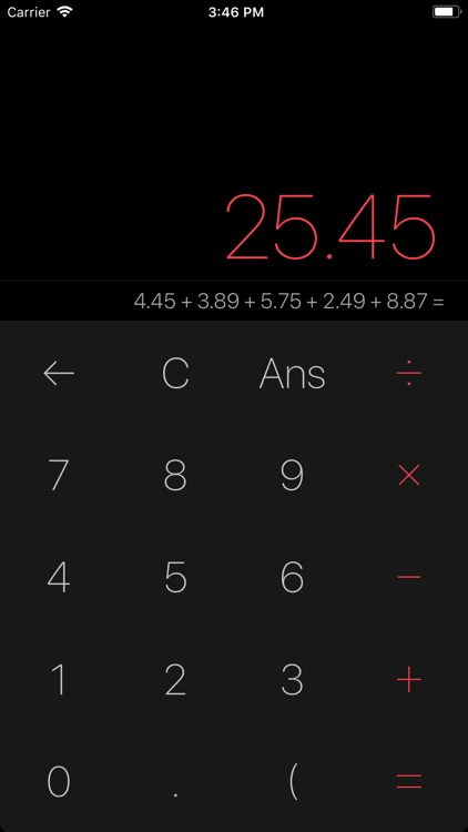 Myriad Calculator