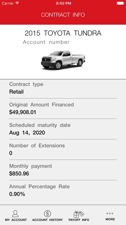 myTFS - Toyota Financial screenshot-3