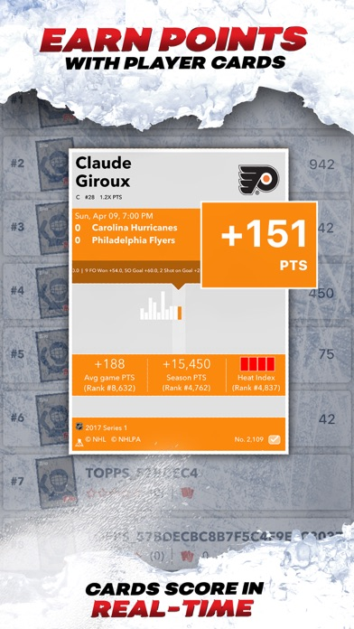 NHL SKATE: Hockey Card Trader app image