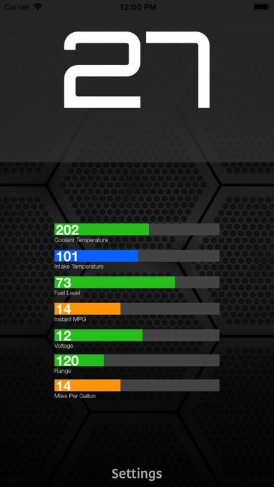 ScanMaster for ELM327 OBD-2 Screenshot 2