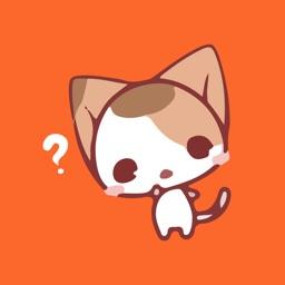Diva Cat Emotes Sticker Pack