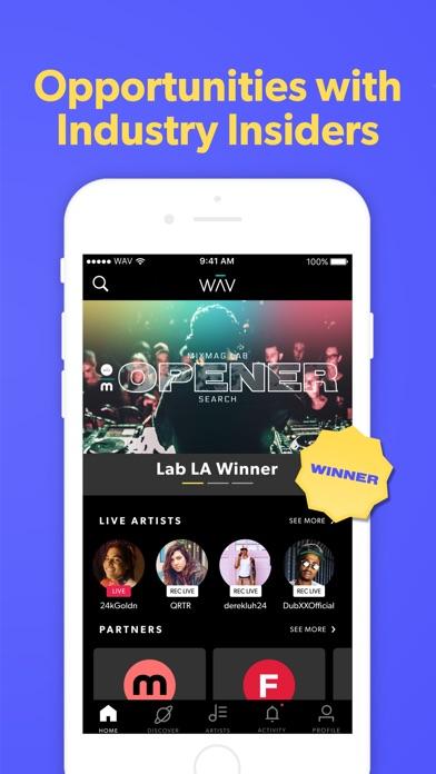 WAV - Music & Live Streams for Windows