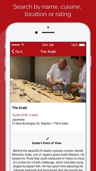 UK & IRL Restaurant Guide 2018 screenshot four