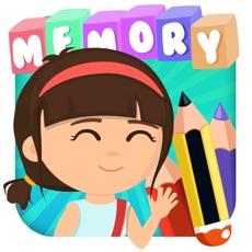 Activities of School - Memory Game for kids