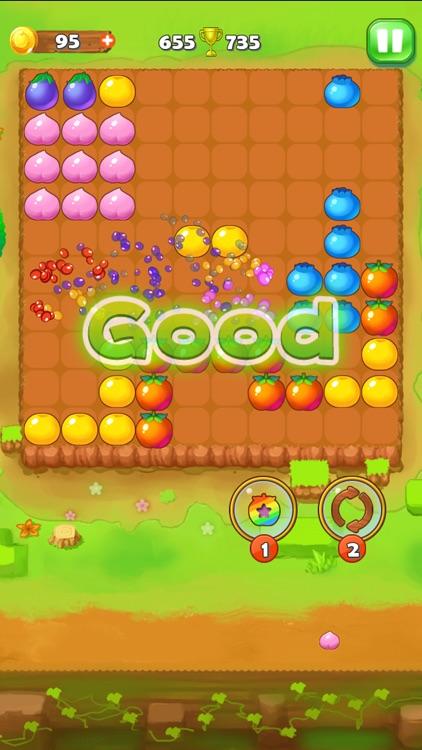 Puzzle Fruit - Tap Block Games screenshot-4