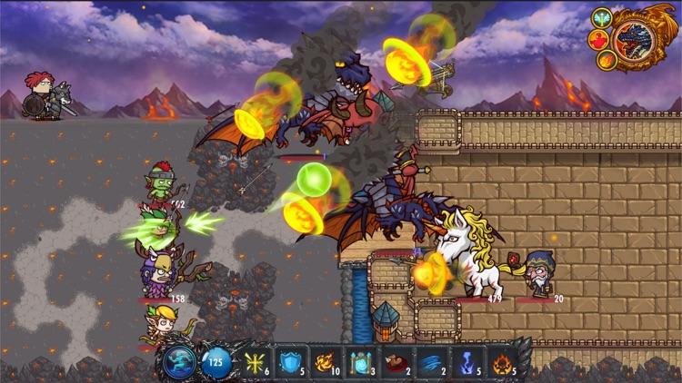Clumsy Knight 2 HD screenshot-4