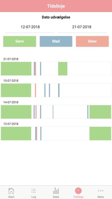 Screenshot for Baby Tracker in Denmark App Store