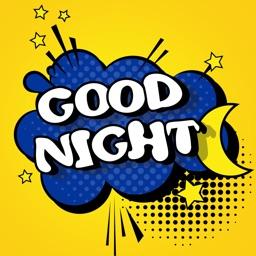 Good Night Stickers!!