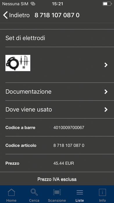 Screenshot of Buderus ProScan2