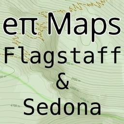 Flagstaff & Sedona Offline Map