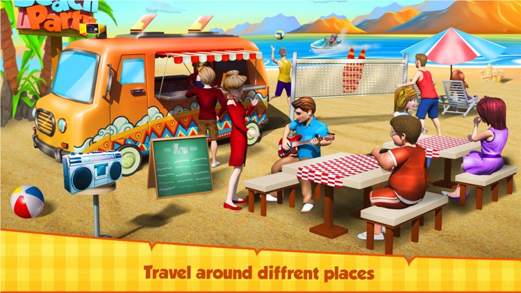 Street Food Truck Cooking Game