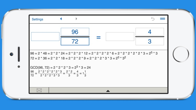 Simplify fractions calculator screenshot-3