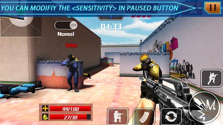 Critical strike battle shooting games