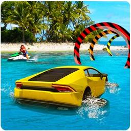 Water Surfer Car Racing Game