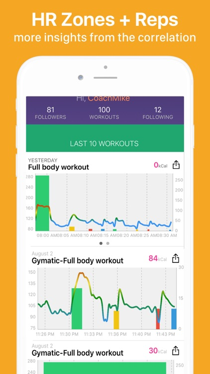 Gymatic Workout Tracker screenshot-7