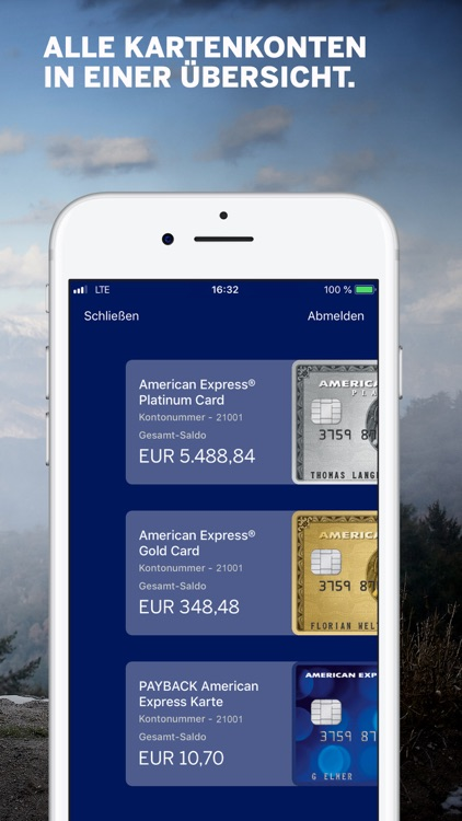 Amex Deutschland screenshot-1