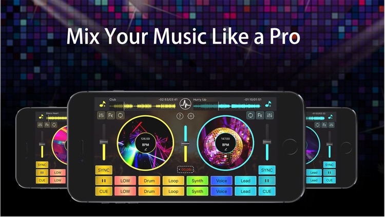 DJ Mixer Studio:Remix Music screenshot-0