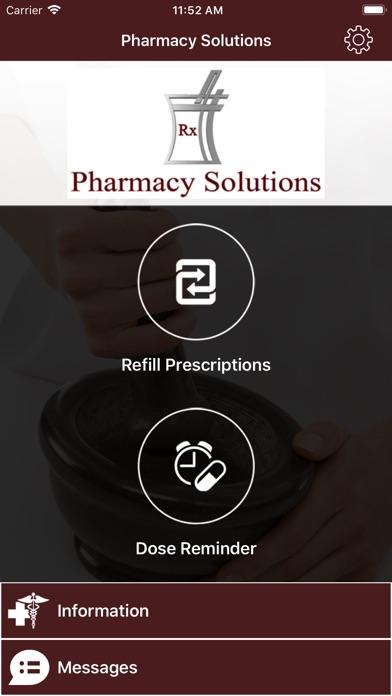 Pharmacy Solutions RX Screenshot