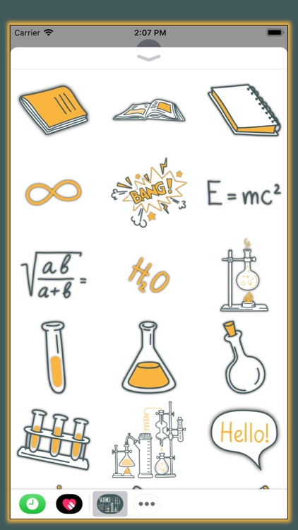 All About Science - Stickers screenshot-3