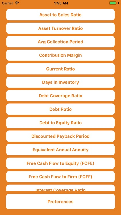 Corporate Finance Calculator