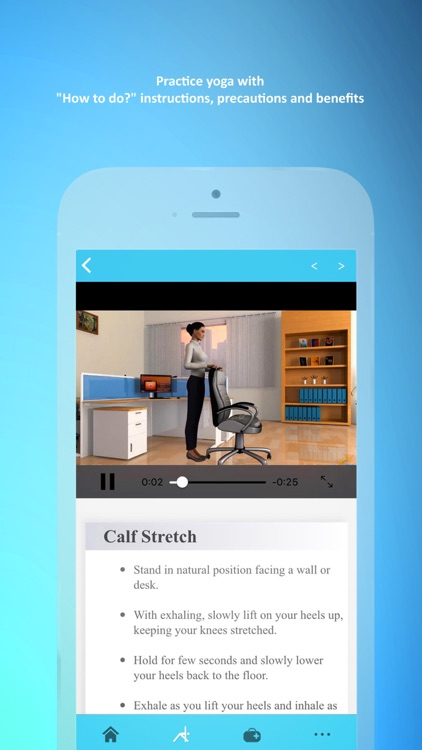 Office Yoga Pro Fitness @ Work screenshot-4