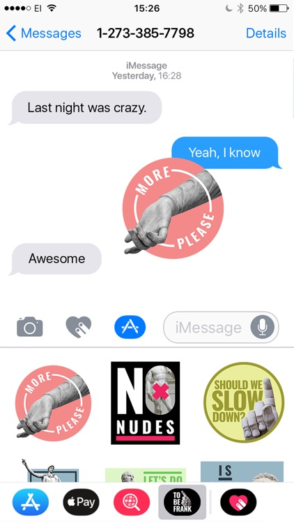 To Be Honest Stickers