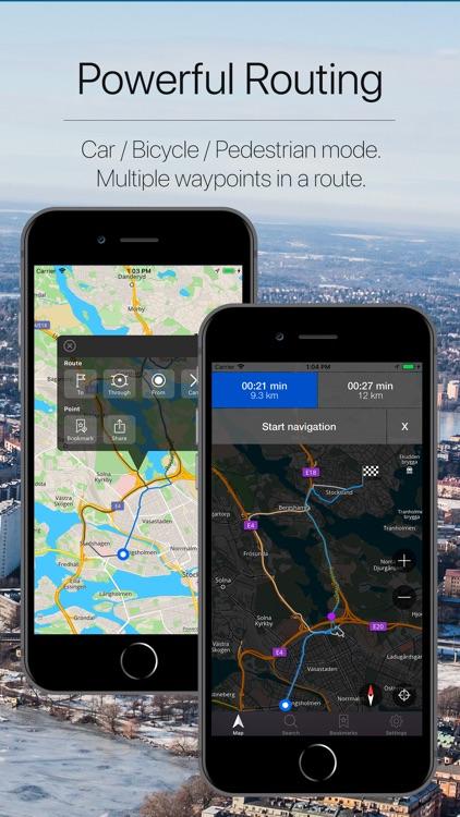 Sweden Offline Navigation