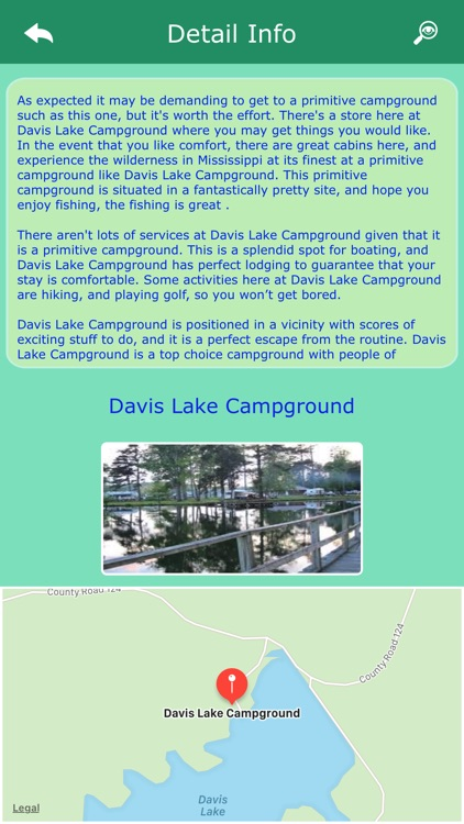 Mississippi RV Campgrounds screenshot-2