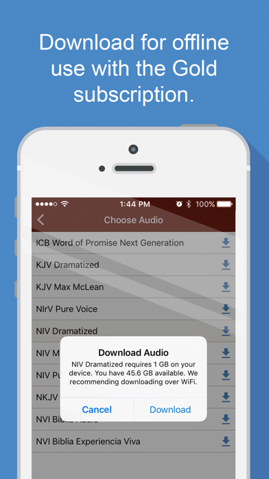 Bible Audio - App - Appinate