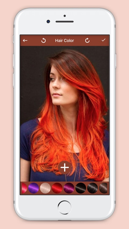 Hair Style : Hair Color Maker