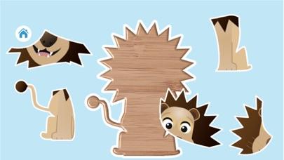 Tier Puzzle & Formen KinderScreenshot von 2