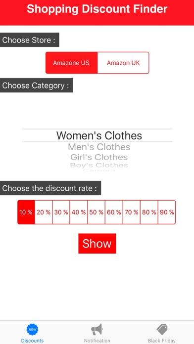 Shopping Discount Finder screenshot four